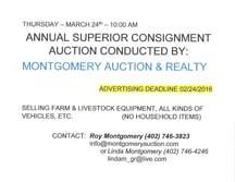 Superior Annual Consignment Auction